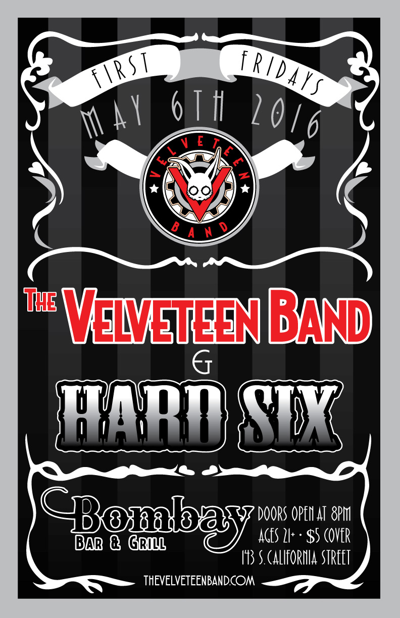 flyer - First Fridays with Hard Six