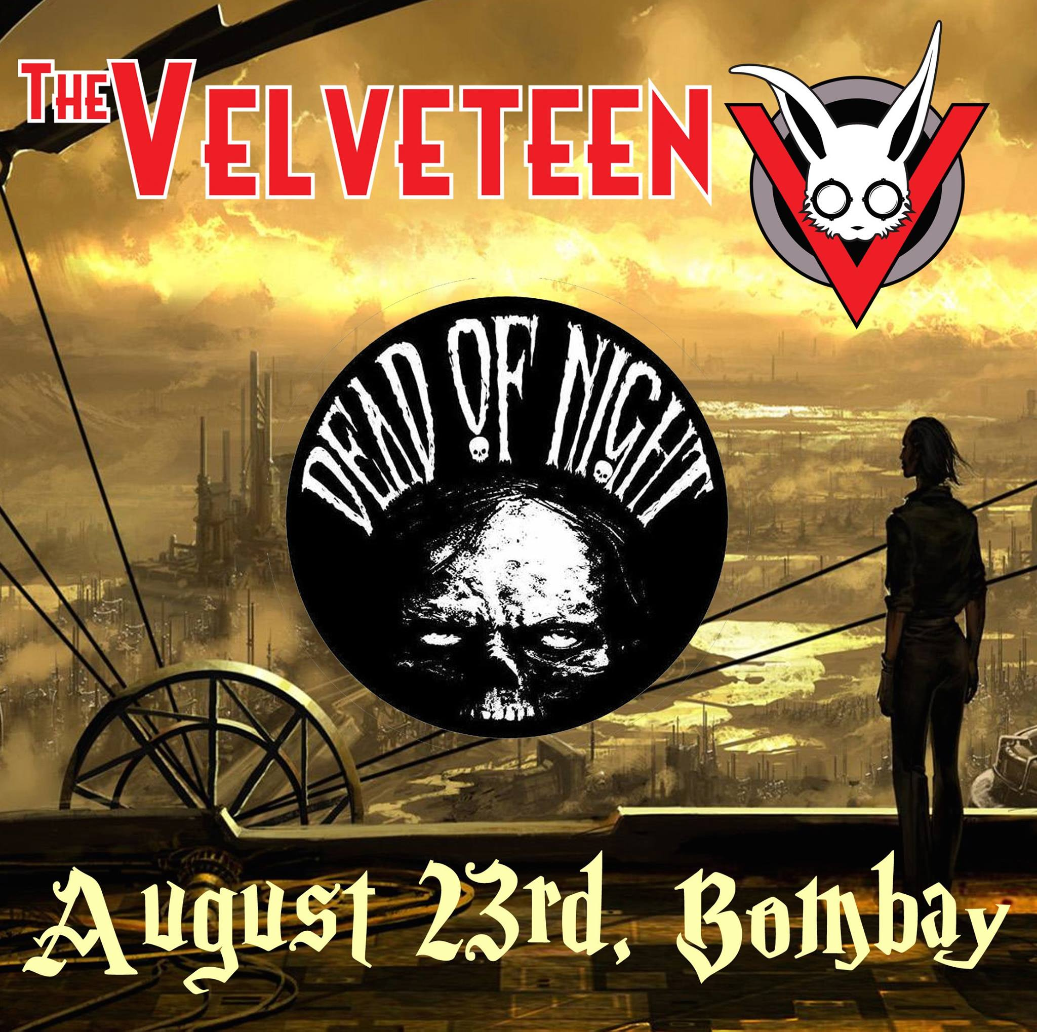 Flyer - Bombay - August 23, 2014 - with Dead of Night