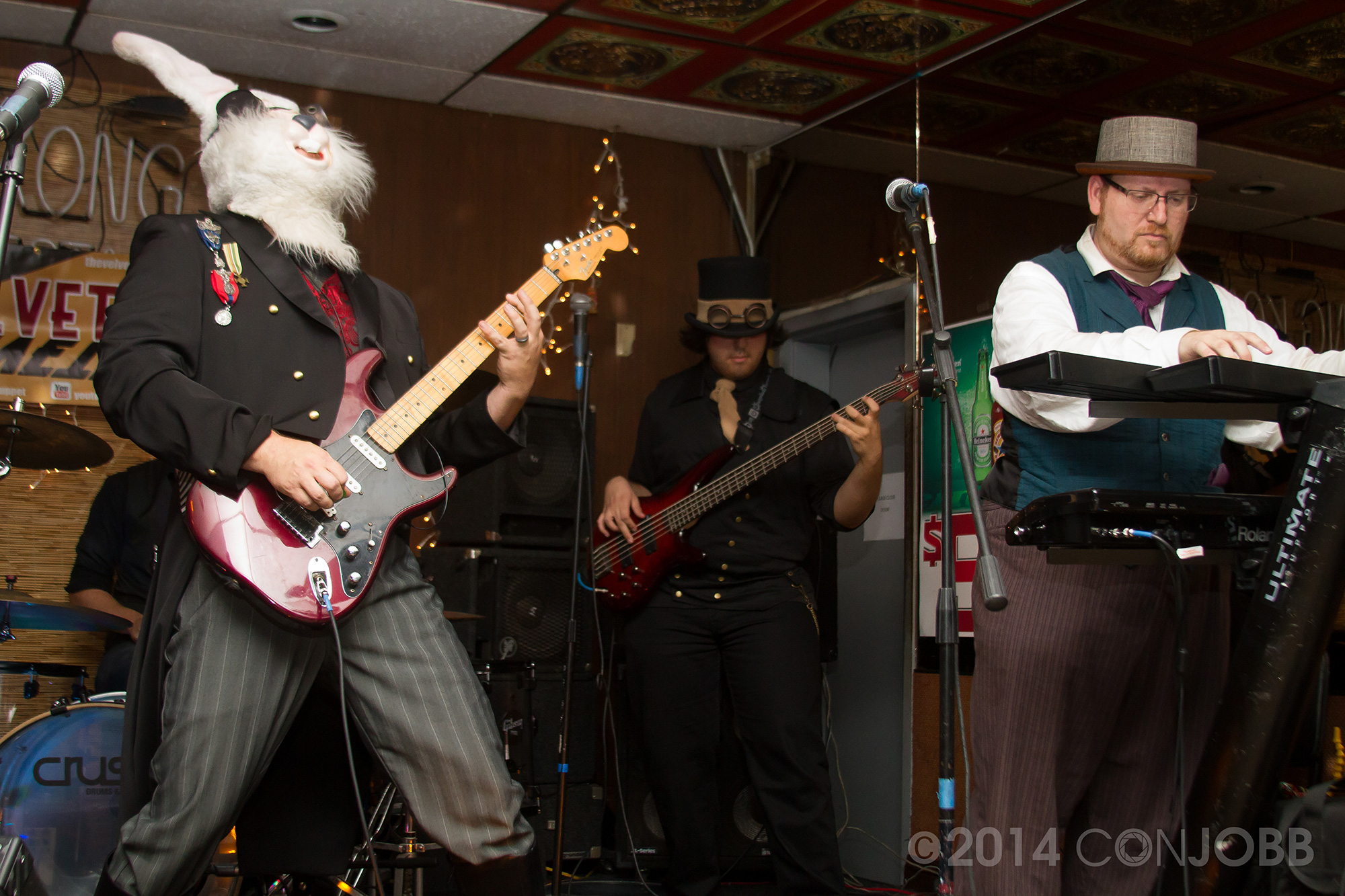the Baron, Buster Matthews, Professor Z  - photo by Jon Cobb - Novebmer 7 2014