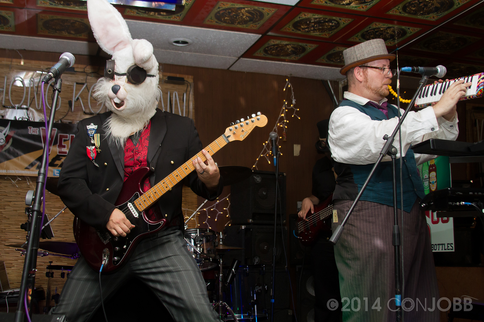 the Baron, Buster Matthews, Professor Z - 2 - photo by Jon Cobb - Novebmer 7 2014
